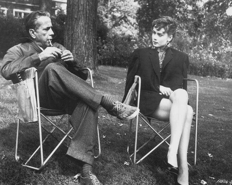 Одри Хепберн, Хамфри Богарт нар. 1954 он