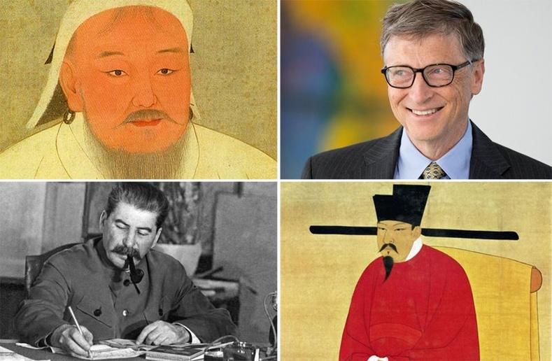 Бүх цаг үеийн хамгийн баян 10 хүн