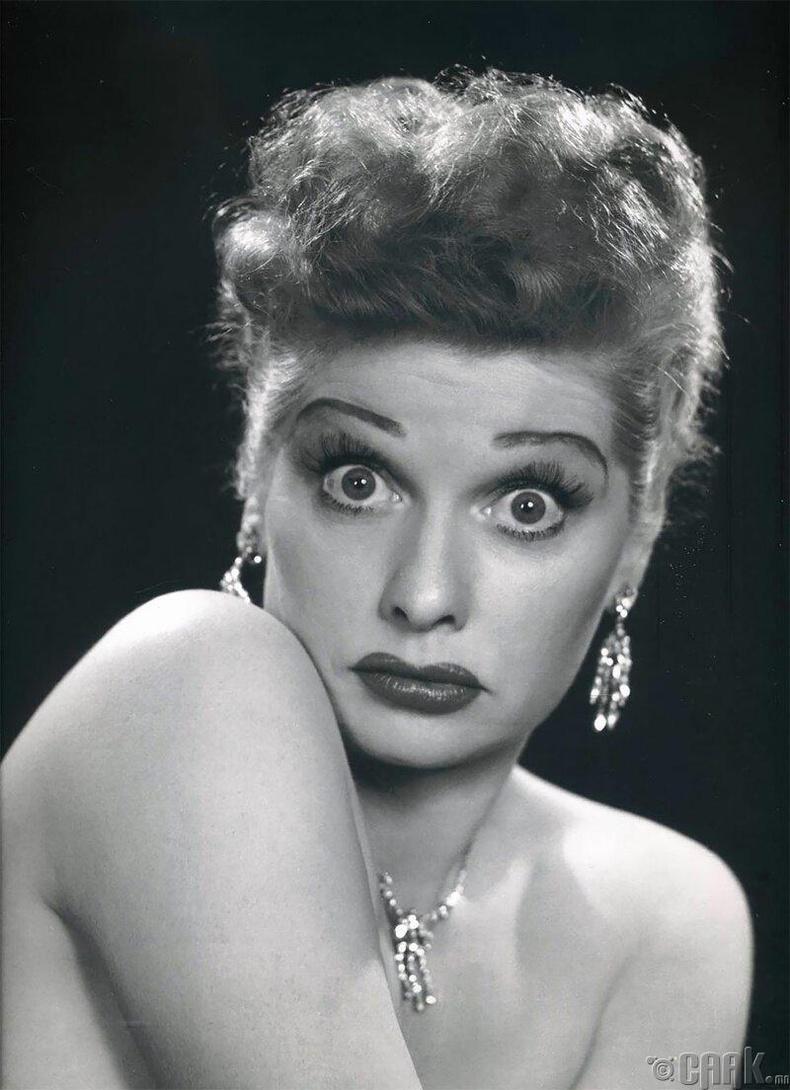 Жүжигчин Люцил Балл, 1950 он