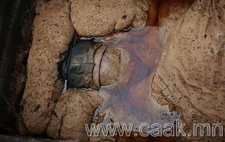 Хятадын барилгачид эртний муми олжээ