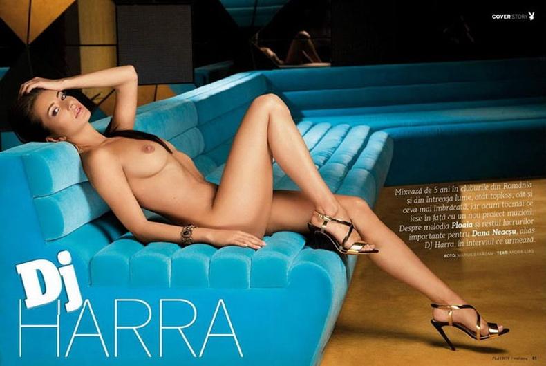 """Румины Dj бүсгүй """"Playboy"""" сэтгүүлд зориулан нүцгэллээ"""