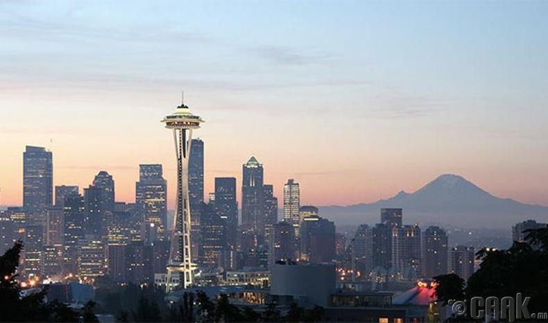 Сиаттль (Seattle) хот, АНУ