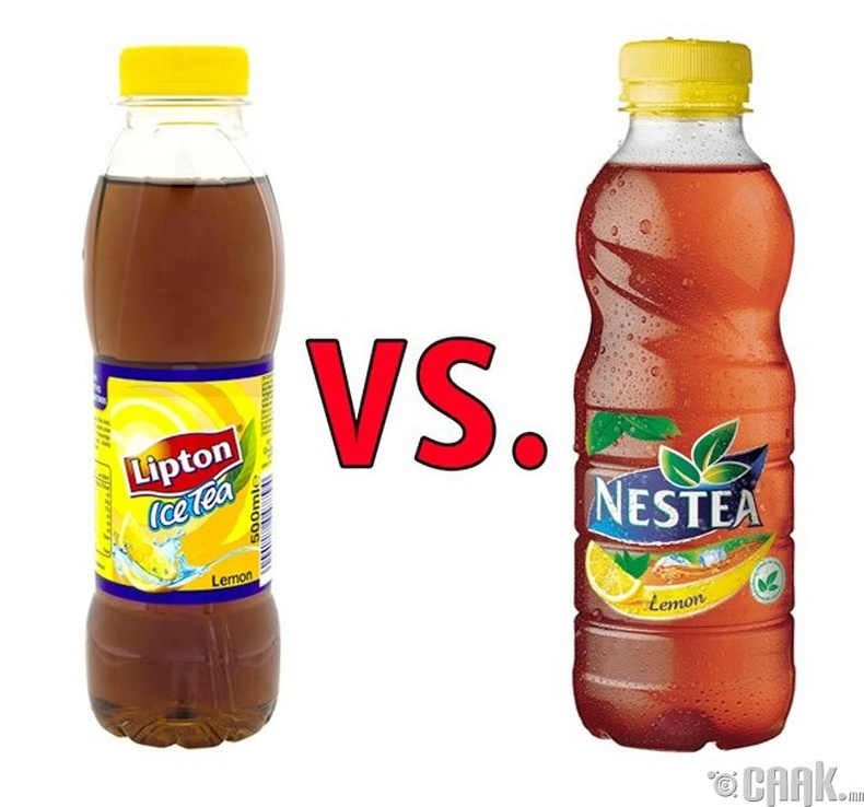 "Липтон цай vs. ""Nestea"" цай"
