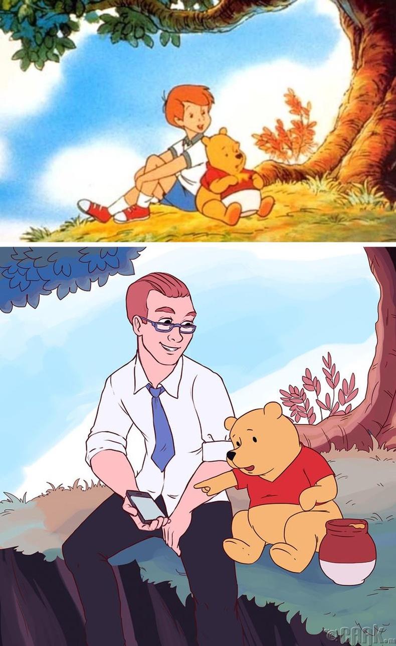 "Кристофер Робин ""Winnie the Pooh"""