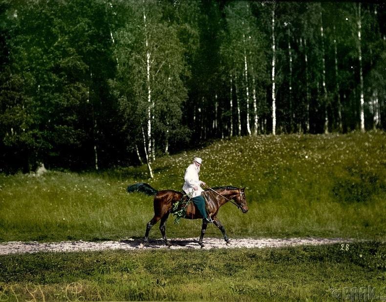 Лев Толстой - 1908 он