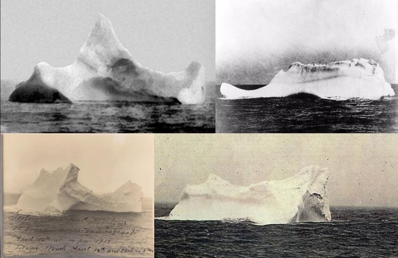 Титаникийг живүүлсэн мөсөн уул