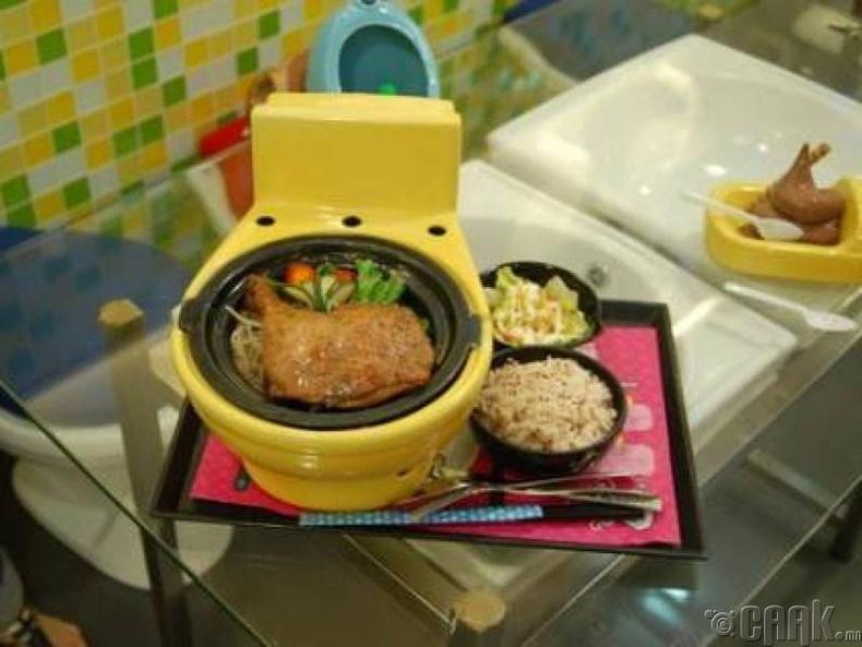 """Суултууран ресторан"" - Хонг Конг"