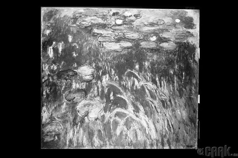 """Клод Монегийн бүтээл """"Усан сараана цэцэг"""""""