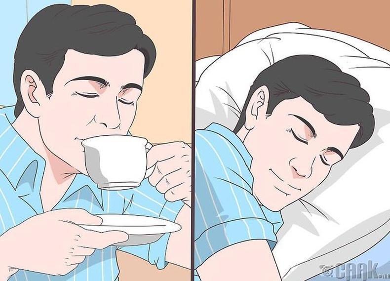 Сайн хооллож, хангалттай унтаж амар