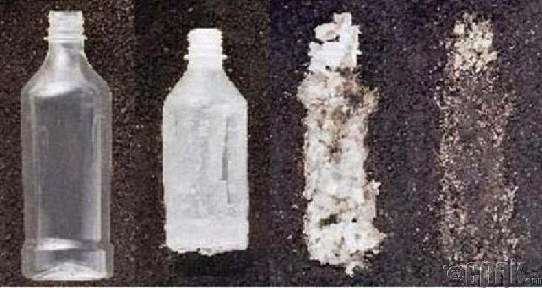 3 жилийн дотор бүрэн задардаг хуванцар сав