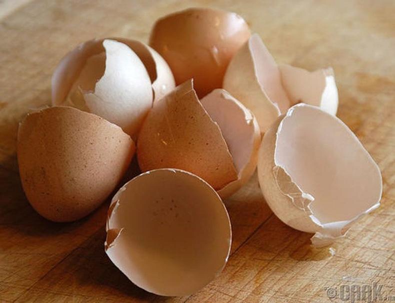 Өндөгний хальсыг хэрхэн хэрэглэх вэ?
