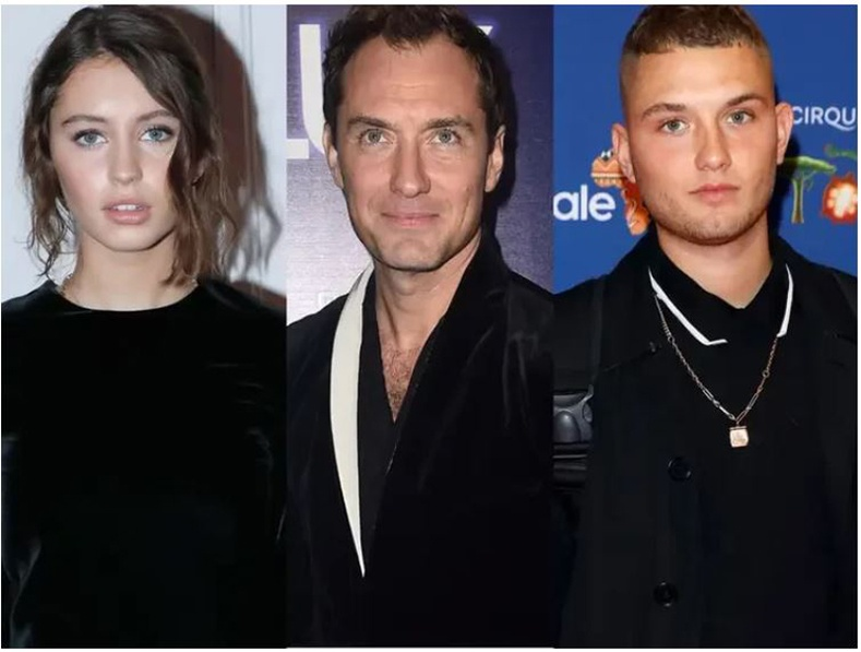 Жуд Лоу (Jude Law)-ийн хүүхдүүд Ирис Лоу, Рафферти Лоу (Iris Lowe, Rafferty Lowe ) нар