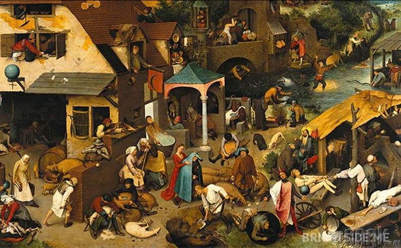 """Netherlandish Proverbs"""