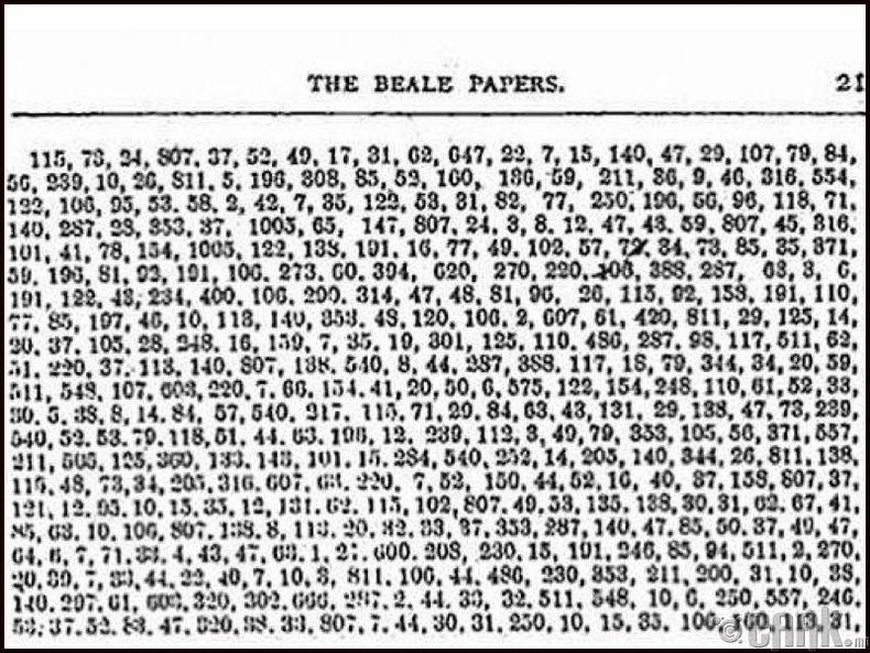 Бейлийн нууц код