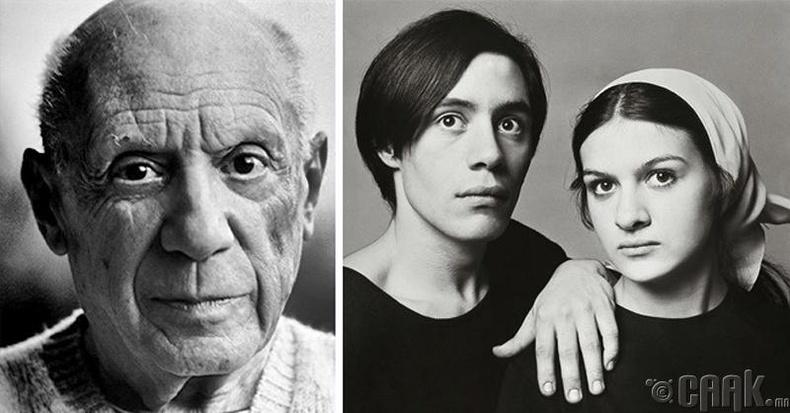 Пабло Пикассо (Pablo Picasso)-ын отгон хүүхдүүд