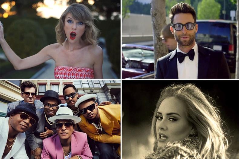 """""""Youtube""""-д хамгийн их хандалт авсан шилдэг дуунууд"""
