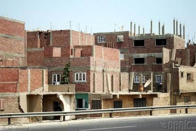 Ихэнх иргэд дээвэргүй байшинд амьдардаг