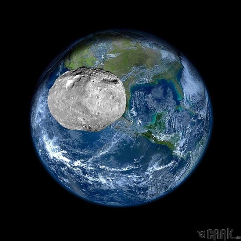 Дэлхий  Апопис гэх жижиг гарагтай 38,400 км-ын зайд ойртоно - 2029 он