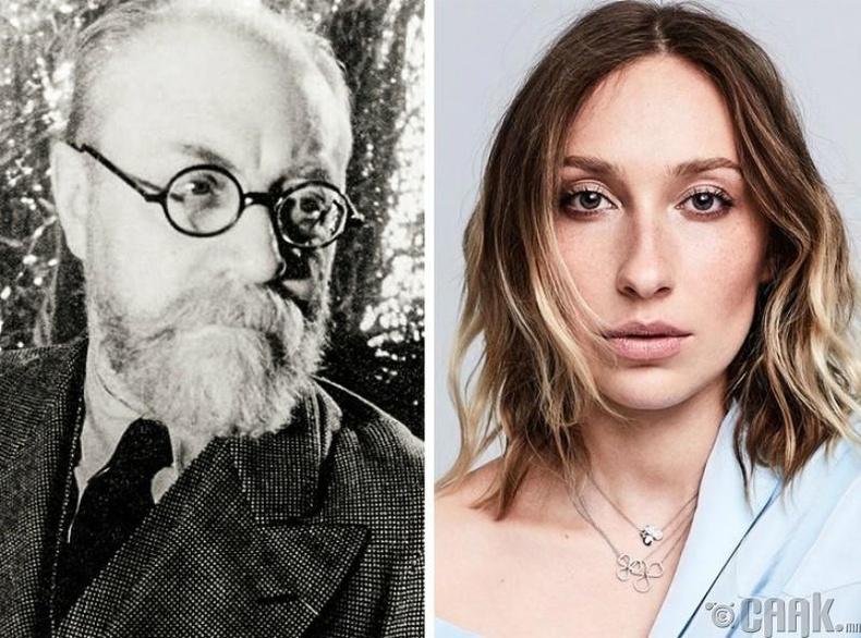 Гайя Жаке-Матисс, зураач Анри Матиссын гуч