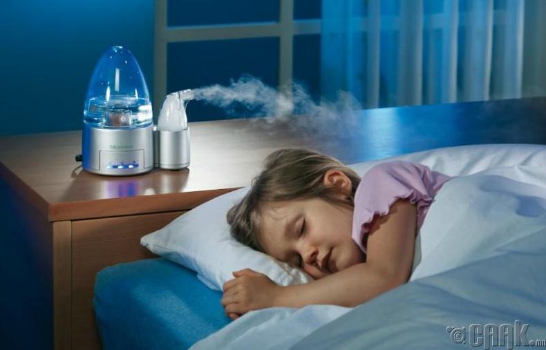Унтлагын өрөөнийхөө агаарыг чийгшүүл