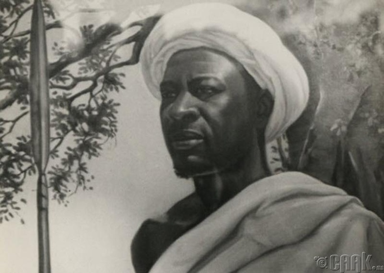 Толгойлогч Мквавагийн ( Mkwawa) гавал