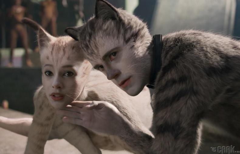 Хамгийн муу дэлгэцийн хос: Хагас хүн / хагас муур (Cats)