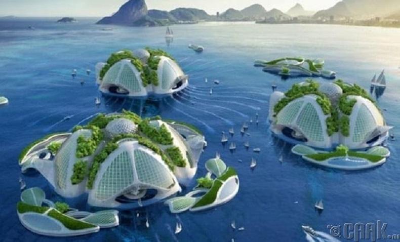 Ирээдүйн барилгууд