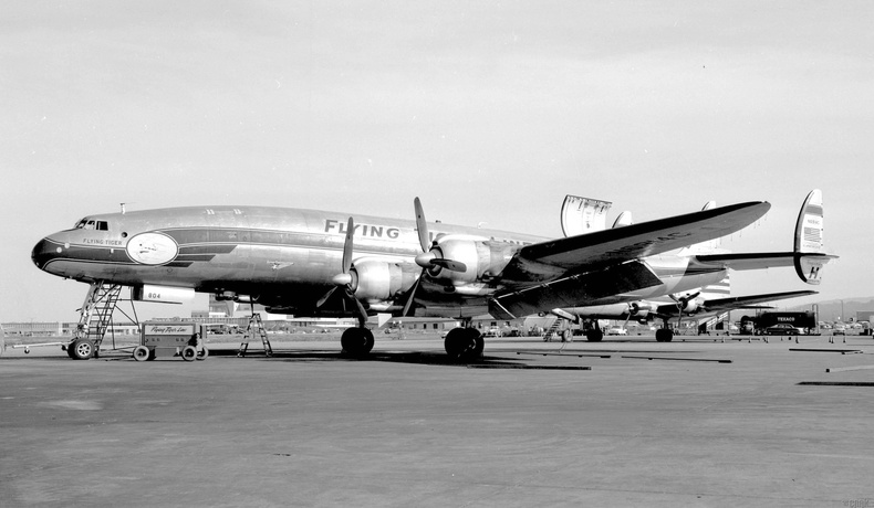 """""""Flying Tiger Line Flight 739"""""""