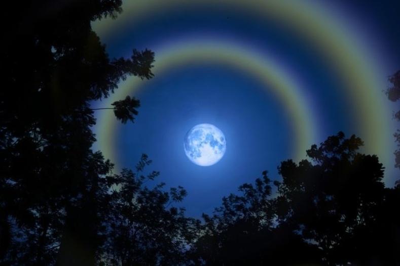 Сарны солонго - Ховор үзэгдэл NASA-гийн дуранд