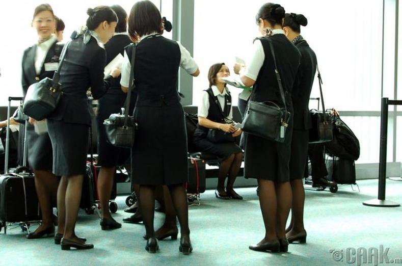 Онгоцны үйлчлэгчийн дүрэмт хувцас