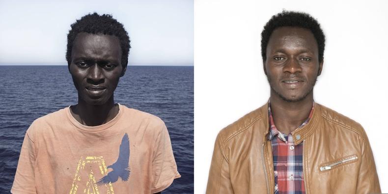 Осман.  Гвинейн Конакри хотоос ирсэн  (1996 онд төрсөн)