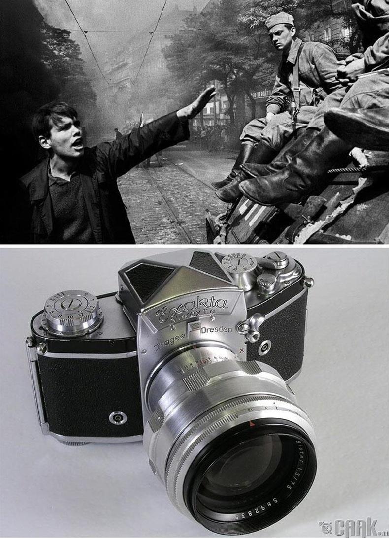 """""""1968 оны дайралт"""", Прага, Йозеф Куделка, 1968 он. """"Exacta Varex"""" камер"""