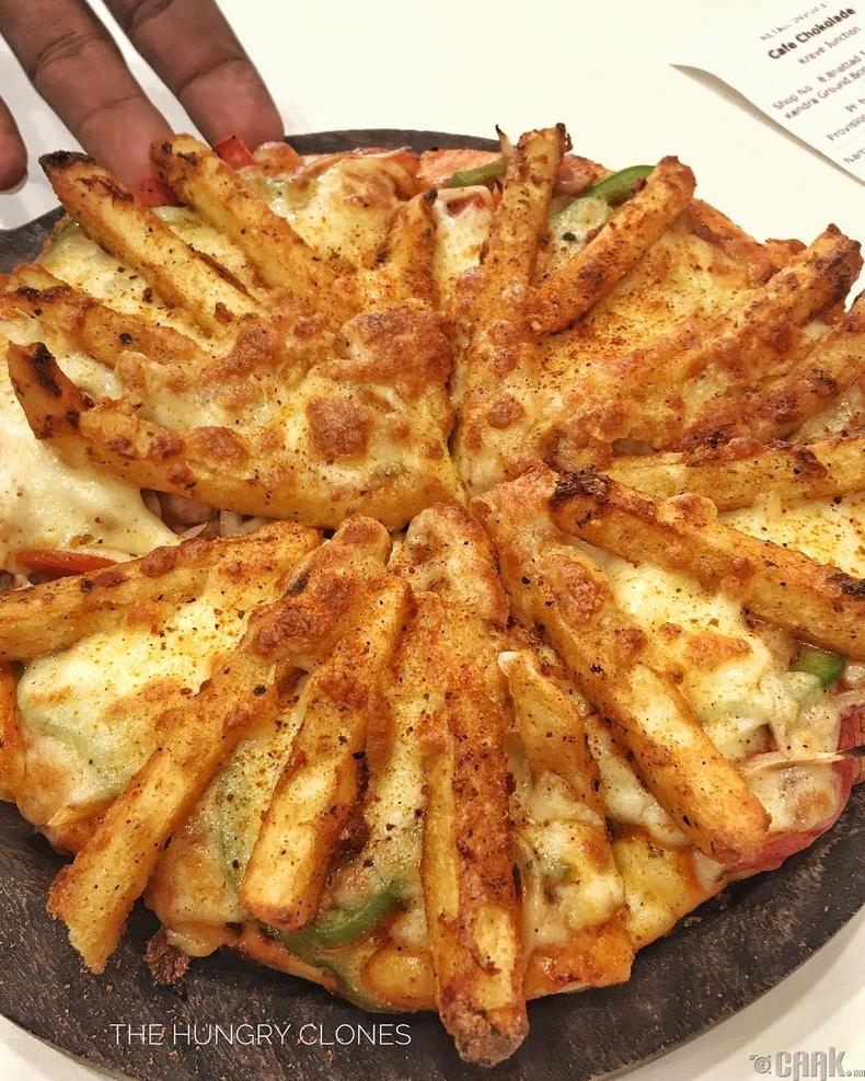 Шарсан төмстэй пицца