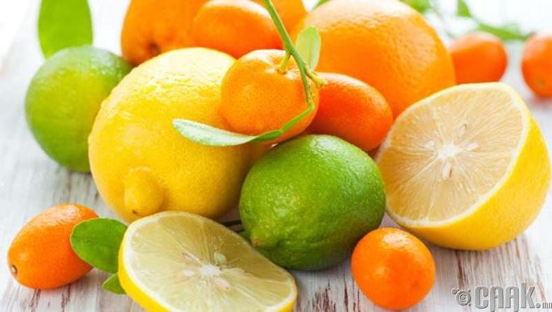 Исгэлэн жимс