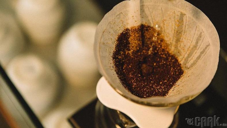 Цаасан кофе шүүгч