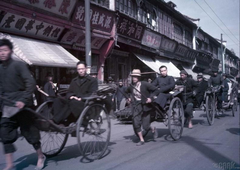 Шанхай дахь риккавууд, 1949 оны 5 сар