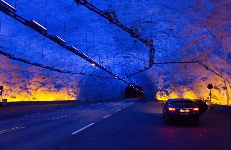 Лердалийн хонгил (Норвеги) - 7 сая ам.доллар / км