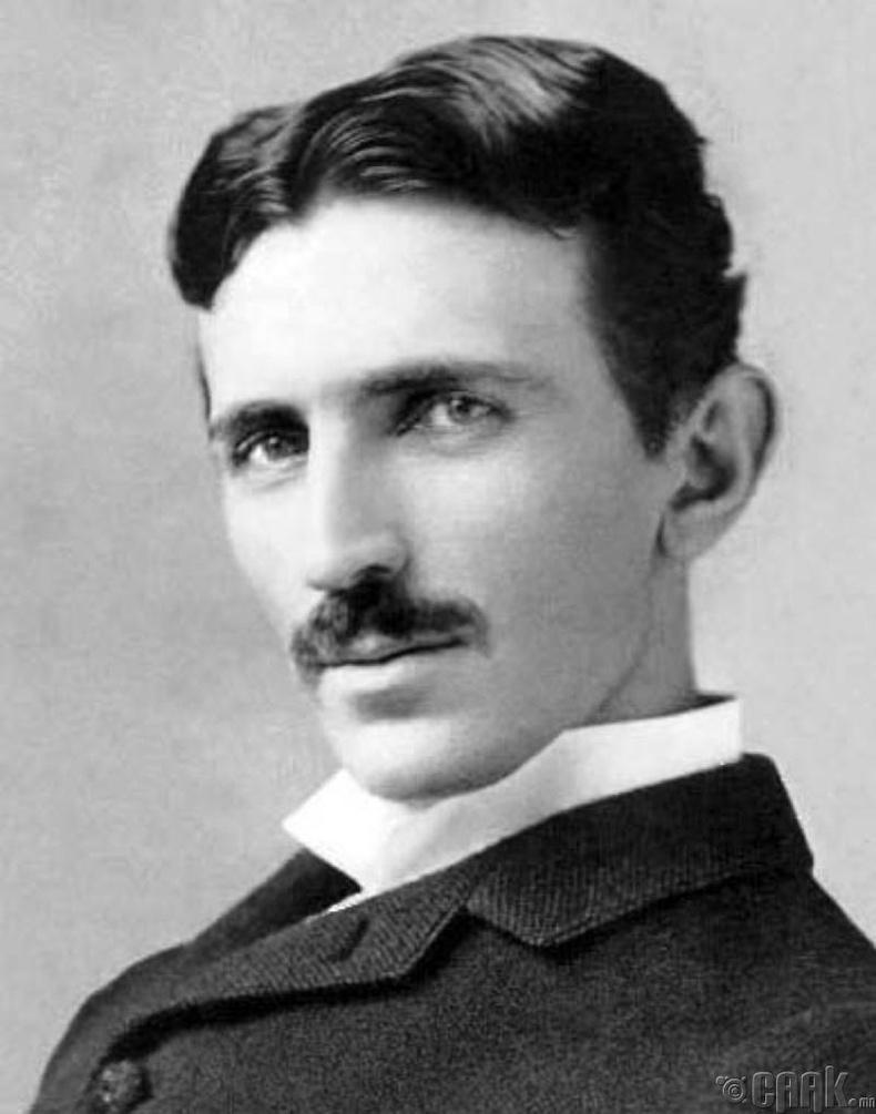 Физикч инженер Никола Тесла, (1856—1943 он)