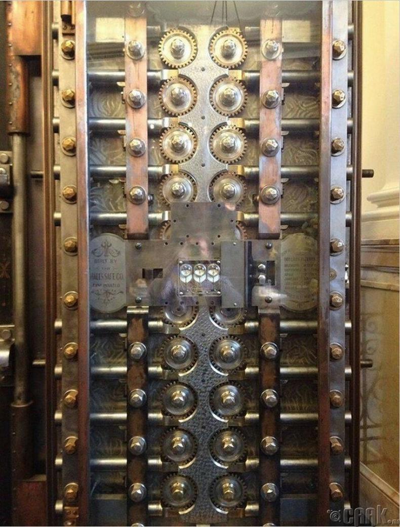 Банкны сейфний хаалга