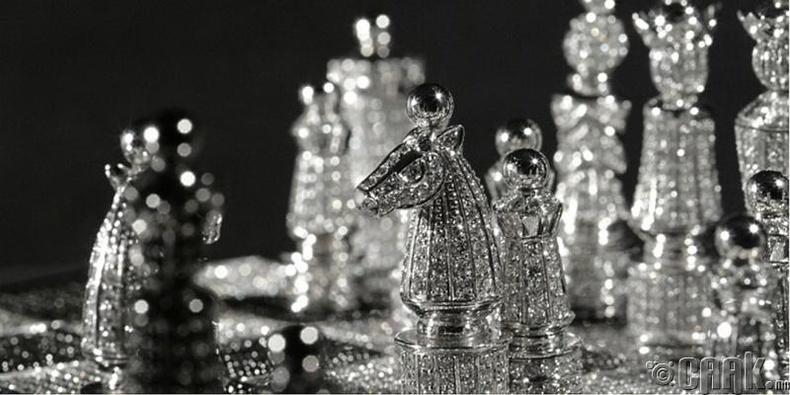 Алмазан шатар – 600,000 ам.доллар