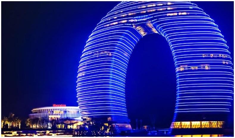 Дэлхийн хамгийн өвөрмөц уран барилгууд