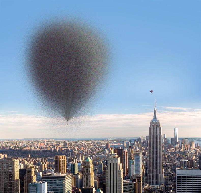 Байшинг хөөргөхөд хэр их хэмжээний агаарын бөмбөлөг хэрэгтэй вэ?