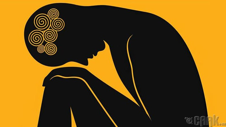 Сэтгэл түгших, сэтгэлээр унах