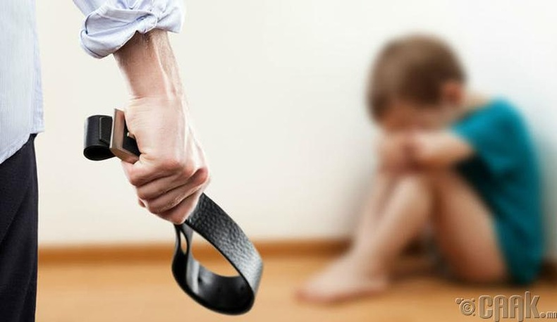 Хүүхэд байхдаа хүчирхийлэлд автсан