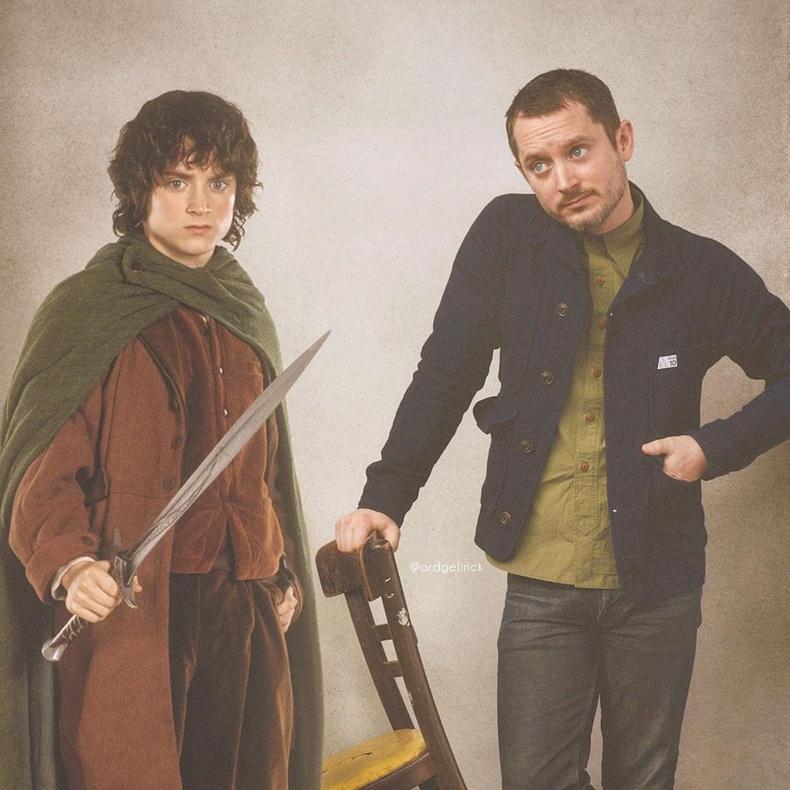 Элайжа Вүүд болон Фродо Бэггинс