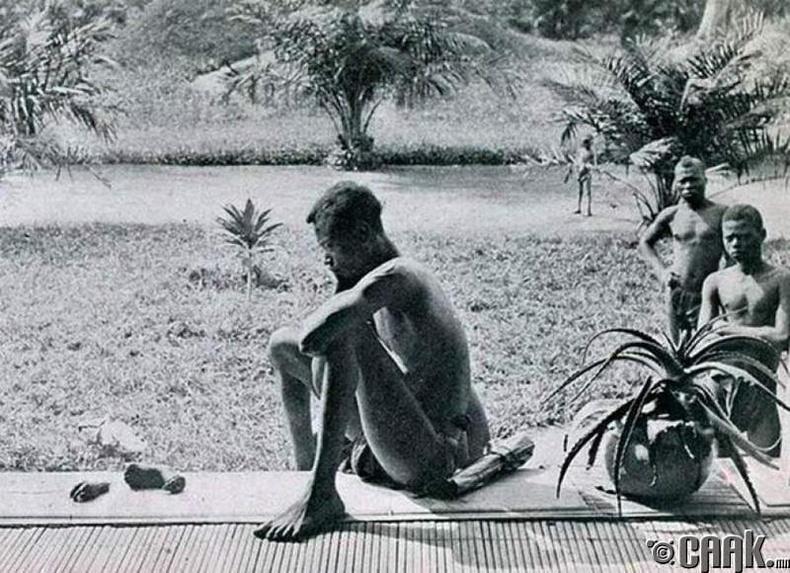 Охиноо алдсан африк залуу