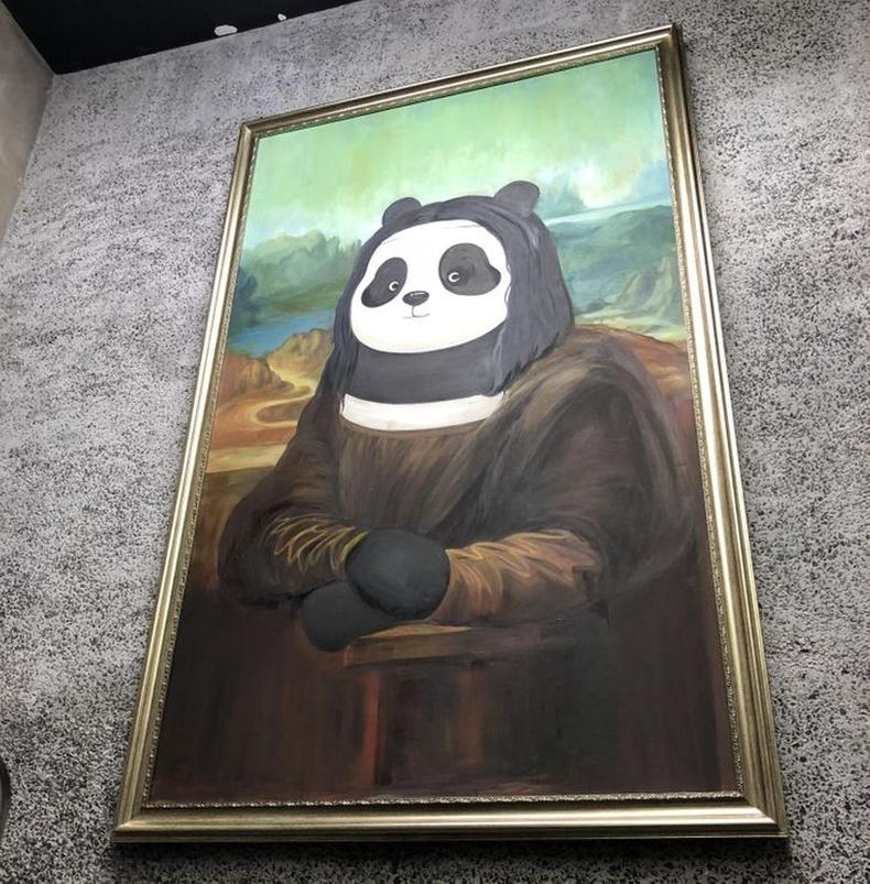 Хулсны баавгай ч мөн Хятадуудын хувьд урлагийн бүтээл болох эрхтэй амьтан.