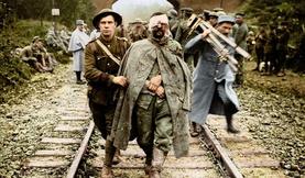 Дэлхийн 1-р дайны бодит аймшгийг өнгөтөөр харуулсан түүхэн зургууд