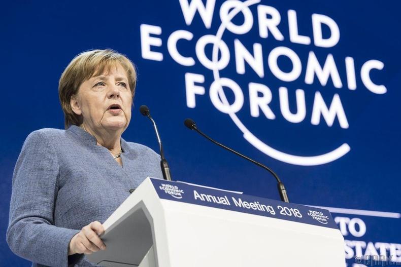 Ангела Меркель - Хүнс нөөцлөгч