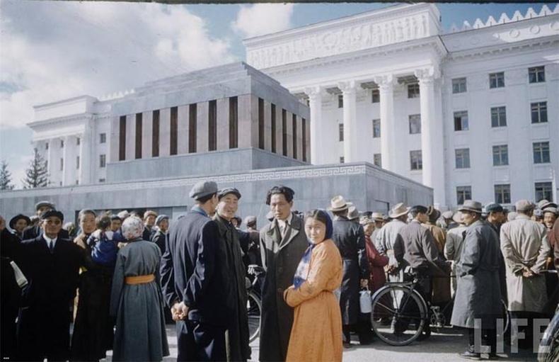 1950-аад оны Монгол орон